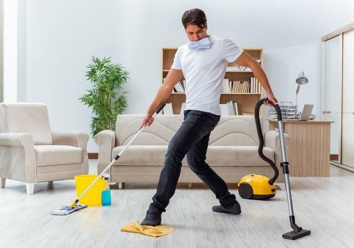 Уборка и другие занятия по дому - тоже спорт