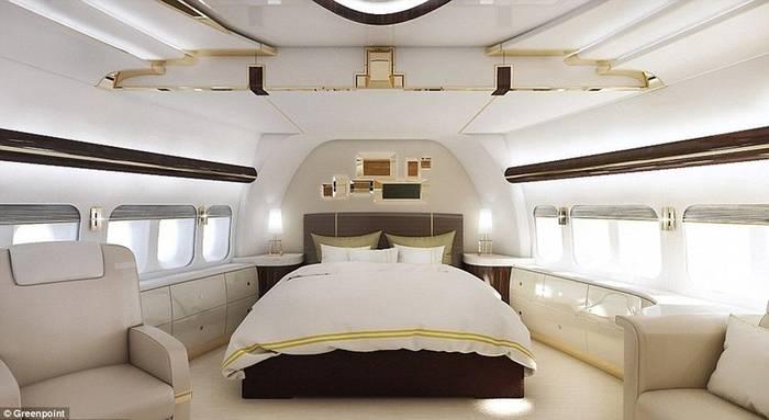 Внутри Boeing 747−8 есть все, даже Sky Loft