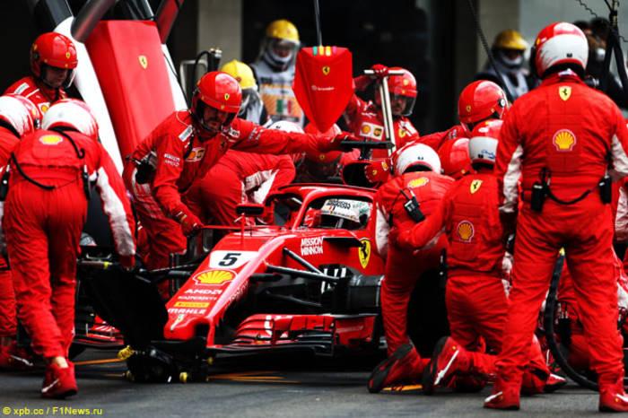 Механики Формулы-1 часто имеют проблемы с ЖКТ