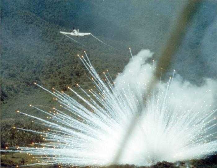 Фосфорные боеприпасы — один из самых жестоких видов оружия