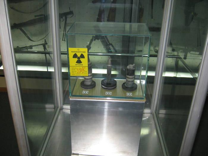 Боеприпасы с обеднённым ураном = радиоактивное заражение местности