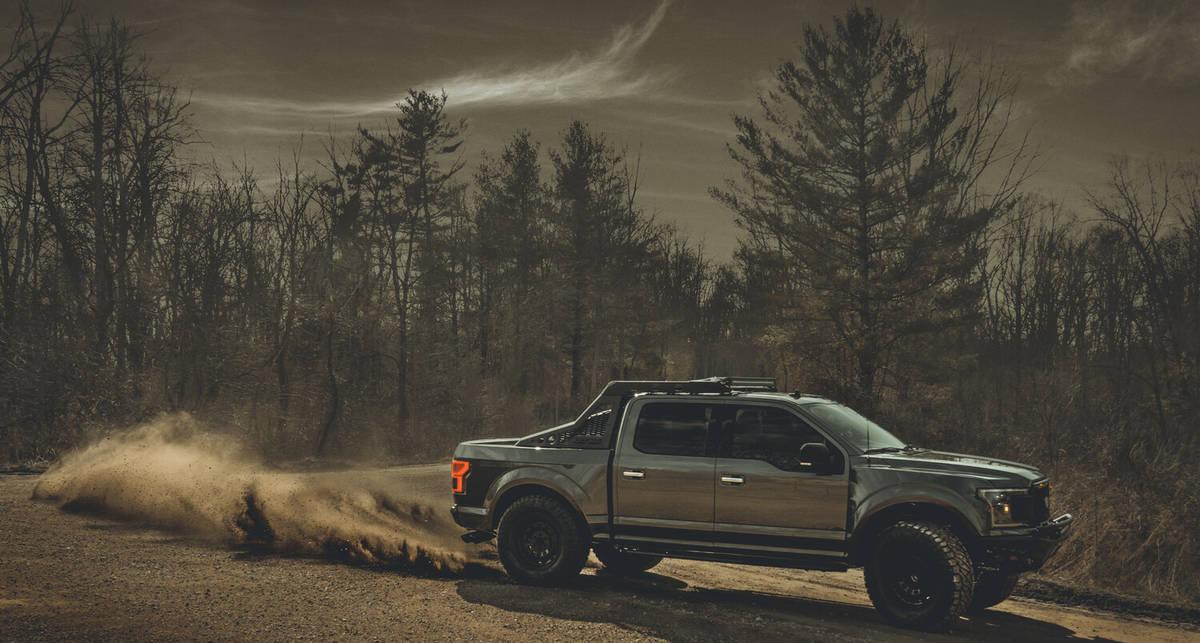 Тяжелый тактический грузовик: Mil-Spec Automotive Ford F-150 мощностью 500 л. с.
