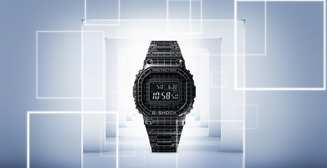 Ретро-технологии: металлические Casio G-SHOCK с лазерной гравировкой