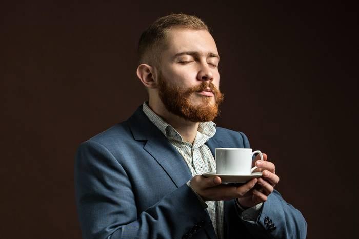 Кофе — хороший способ отвлечься от работы и насладиться бытием