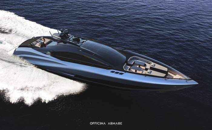 A88 Gransport - суперкар среди водного транспорта
