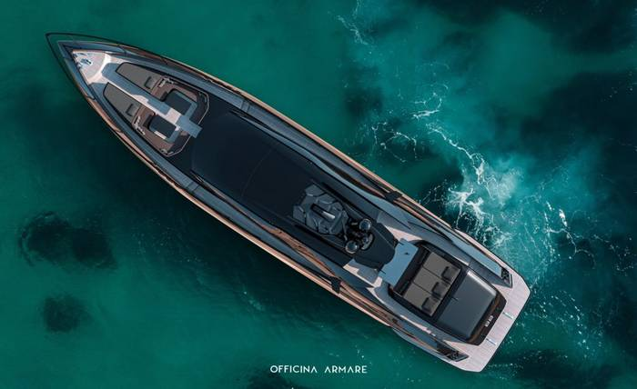 A88 Gransport. Ее прозвали Lamborghini Huracan Evo of the sea