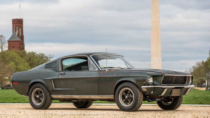 Ford Mustang GT «Bullitt» (1968)