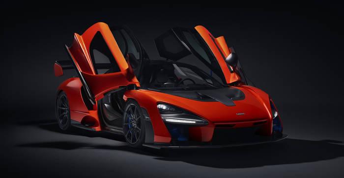 McLaren Senna GTR. Прижимная сила - 1000 кг
