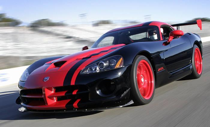 Dodge Viper ACR-X = улучшенный Dodge Viper