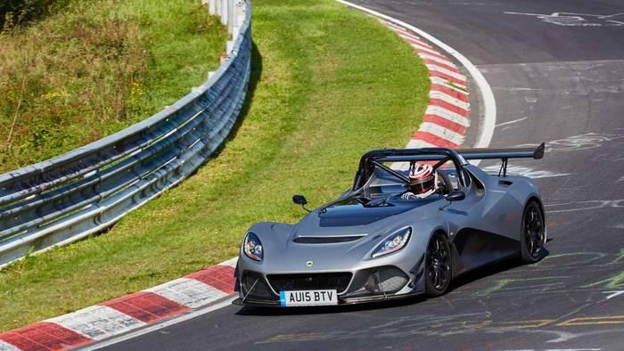Lotus 3-Eleven - спорткар без дверей и крыши