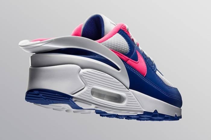 Над Nike Air Max 90 FlyEase трудился Тинкер Хэтфилд