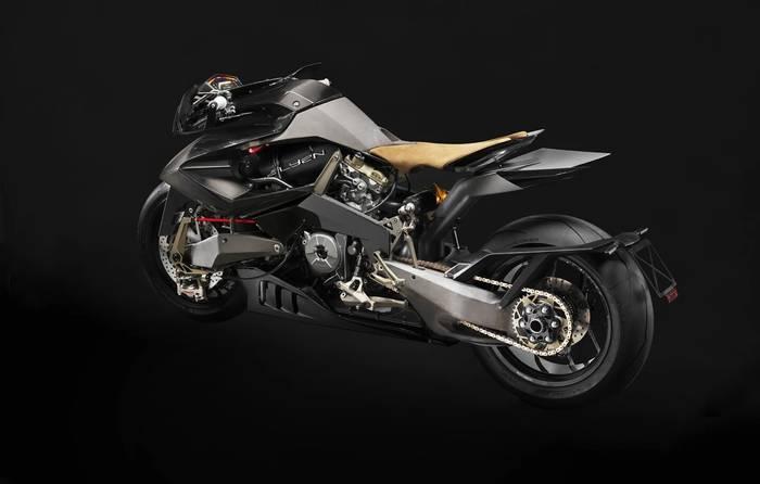 Чудаковатый кузов — пожалуй, главная особенность Ducati Vyrus Alyen