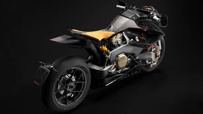 Колесная база Ducati Vyrus Alyen — 1575 мм. Многовато
