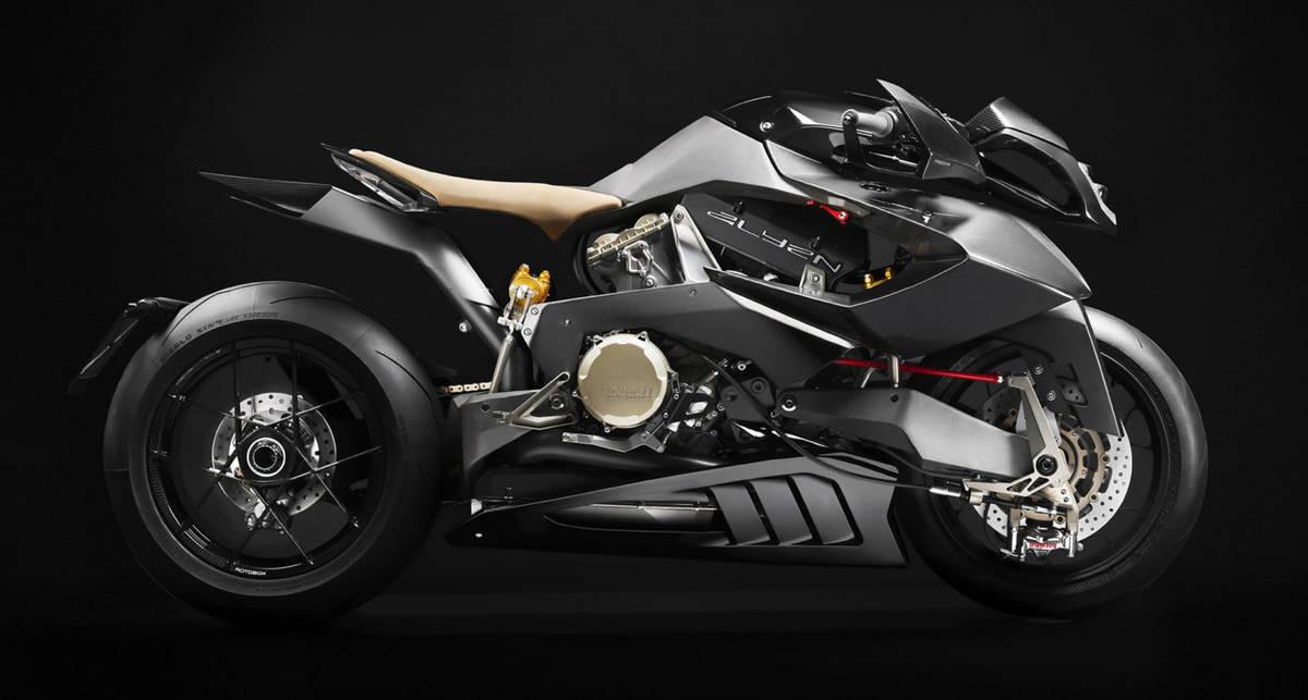 Ducati Vyrus Alyen: 202-сильный концептуальный мотоцикл в духе