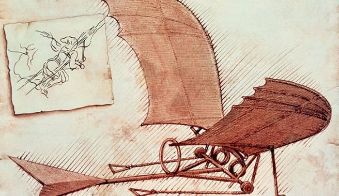Орнитоптер да Винчи был призван дать человеку крылья