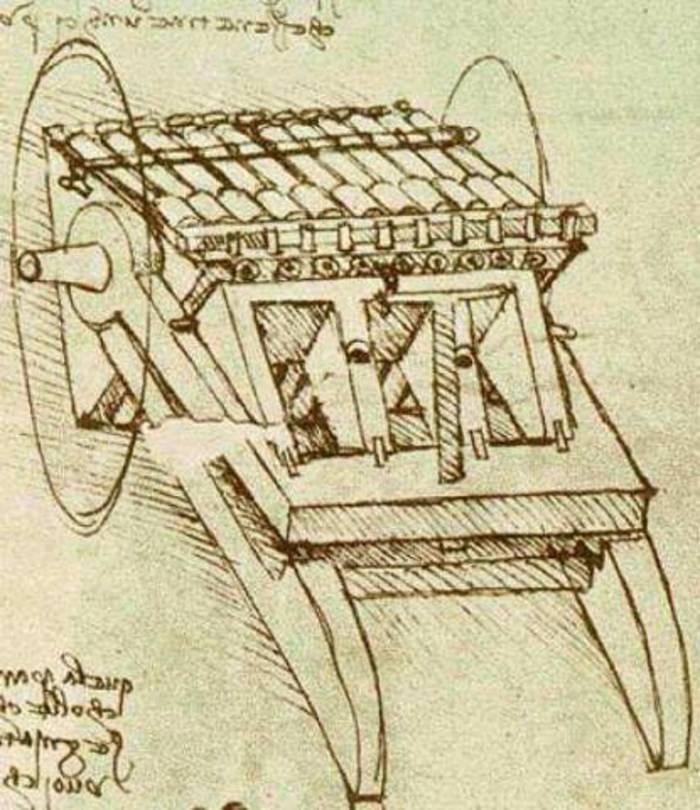 Самоходная тележка - первый автомобиль в истории