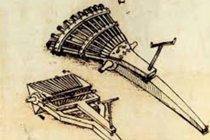 Пулемет да Винчи был медленным, но эффективным (особенно в борьбе с пехотой)