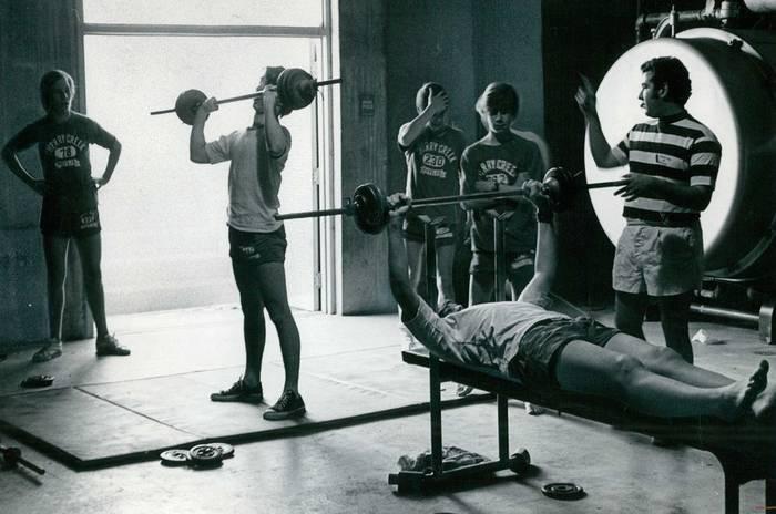 Тяжелая атлетика была одним из самых популярных видов спорта