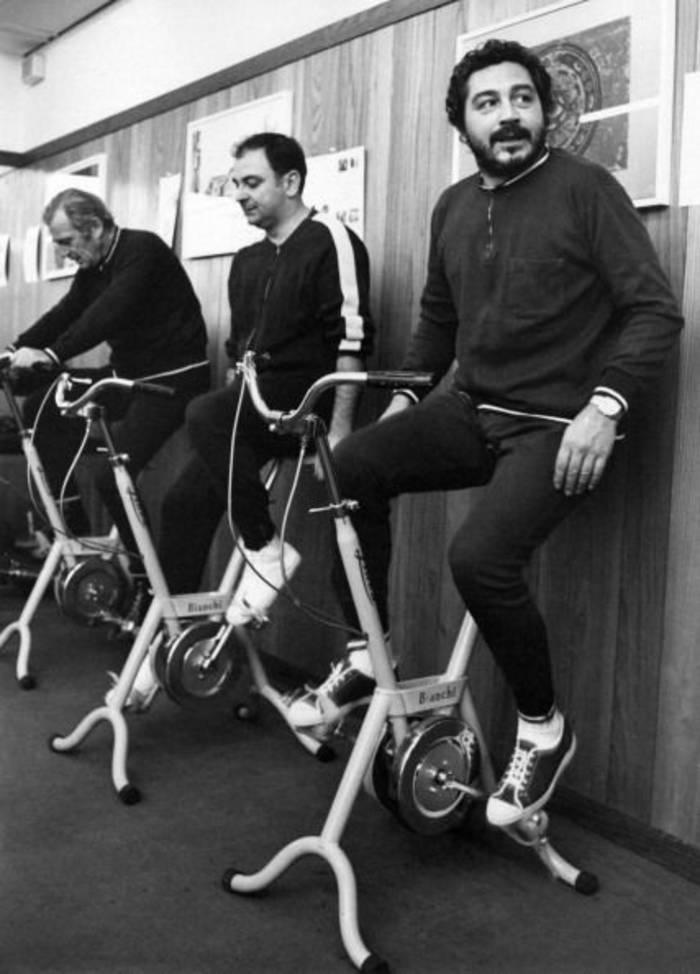 Велотренажеры устанавливались даже в офисах