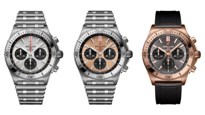 Три модели из коллекции Chronomat. Созданы с отсылкой к механическому Chronomat 1984 года