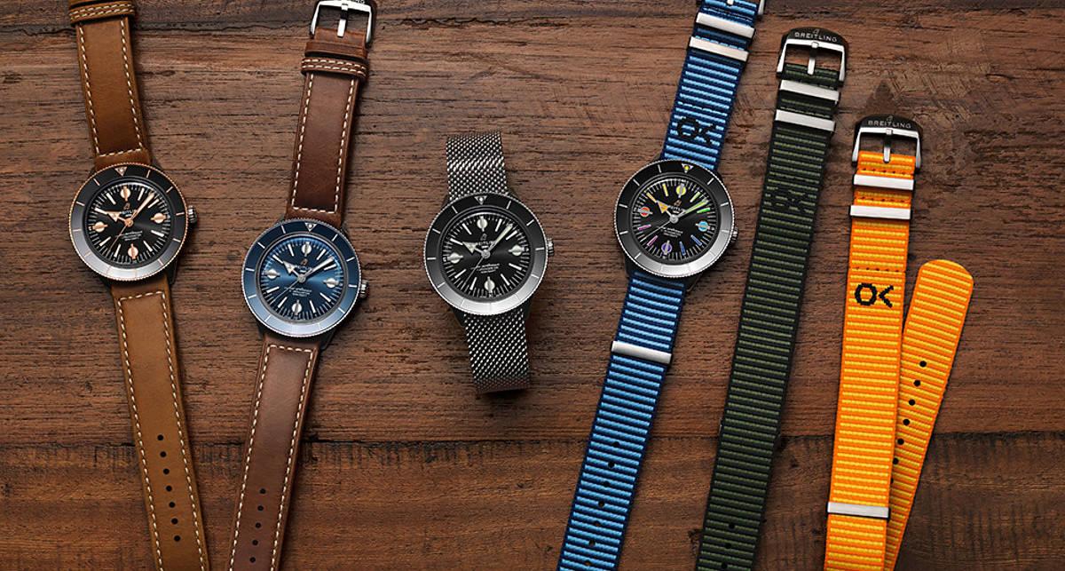 Онлайн-роскошь: коллекция часов от Breitling в стиле ретро