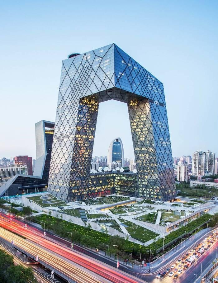 Офис Центрального телевидения Китая (CCTV), Пекин, Китай