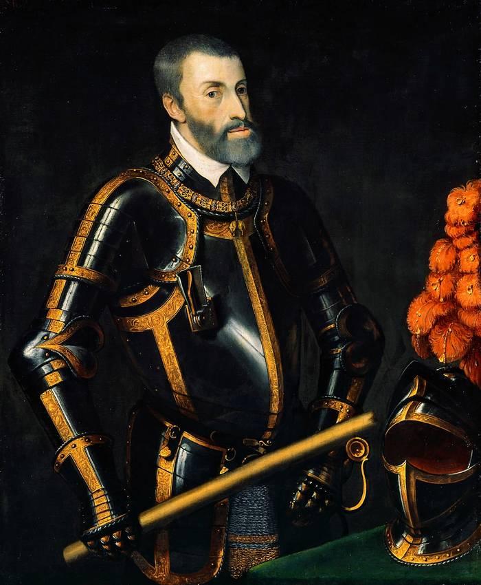 Карл V. Убивал всех, в том числе и мирных жителей