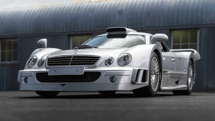 Mercedes CLK GTR (1998) - 4,1 миллиона евро