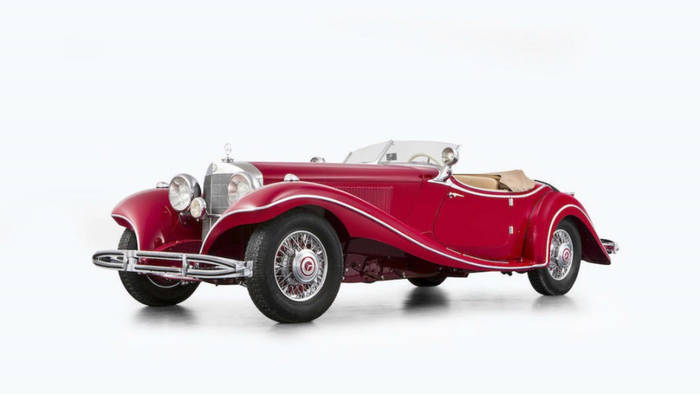 Mercedes 500 K Roadster (1935) - 5,2 миллиона евро