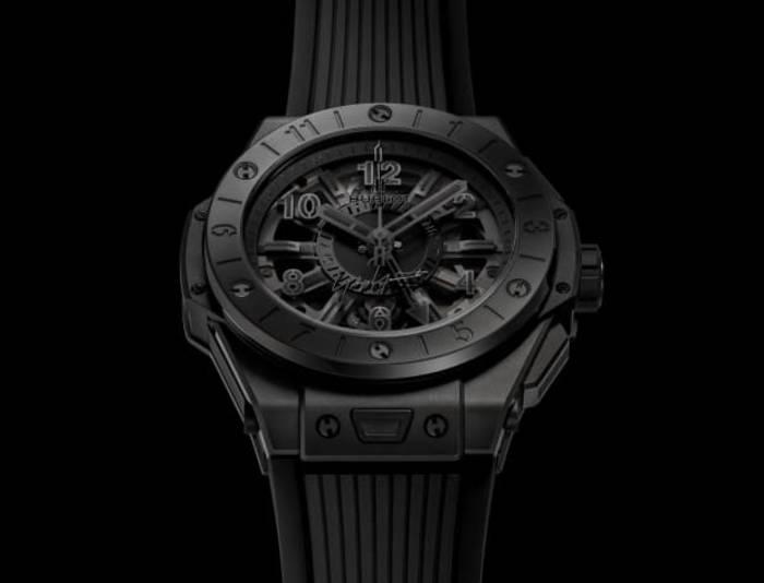 Hublot Big Bang GMT All Black Yohji Yamamoto. Вероятно, самые черные часы в мире