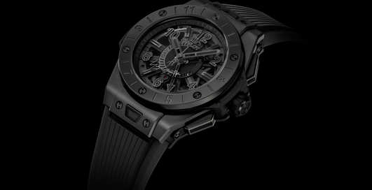 Часы Большого взрыва: Hublot Big Bang GMT All Black Yohji Yamamoto