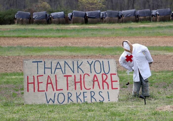 Фермеры штата Мэриленд, США, тоже своеобразно признательны