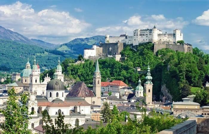 Замок Хоэнзальцбург, Австрия