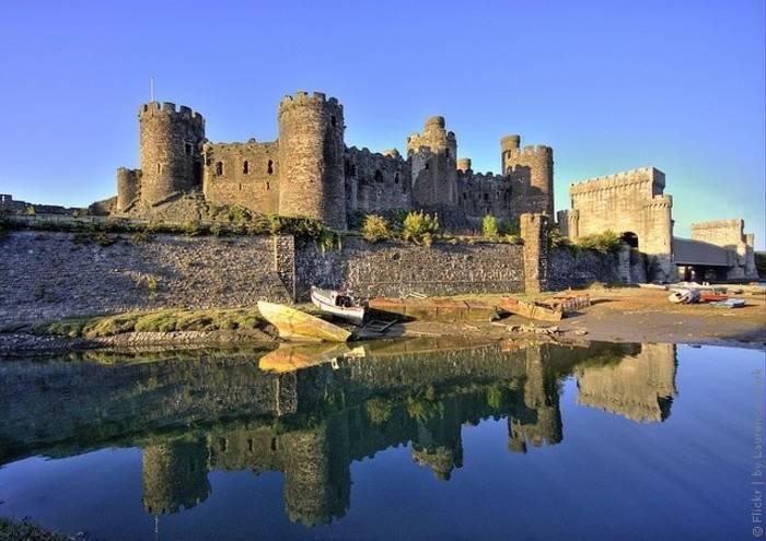 Замок Конуи, Великобритания