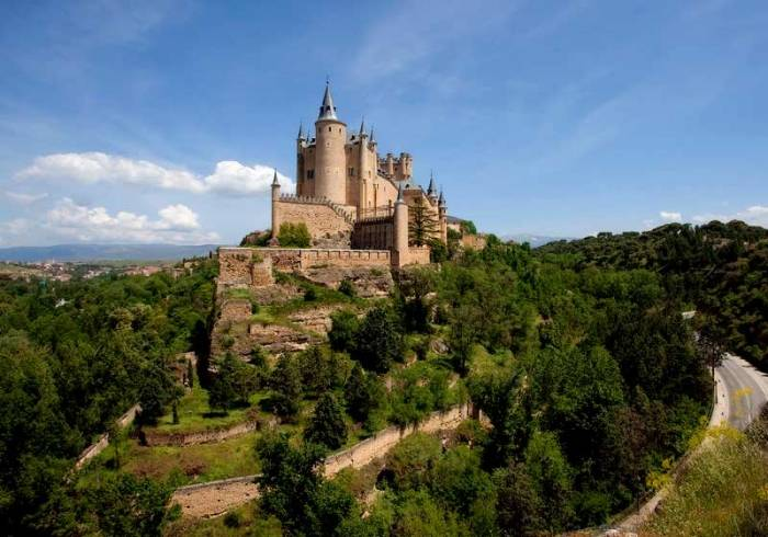 Алькасар вСеговии, Испания