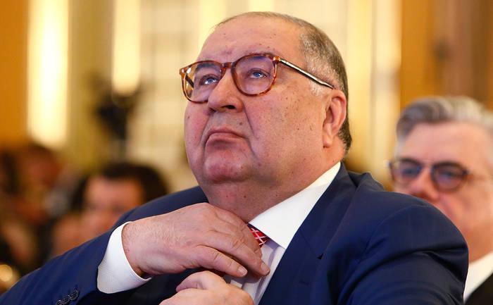 Российский миллиардер Алишер Усманов