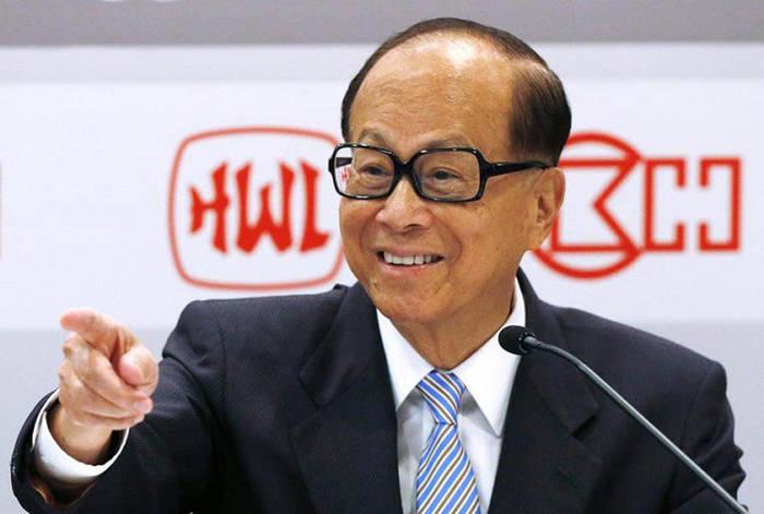 Самый богатый человек Гонконга Ли Кашин