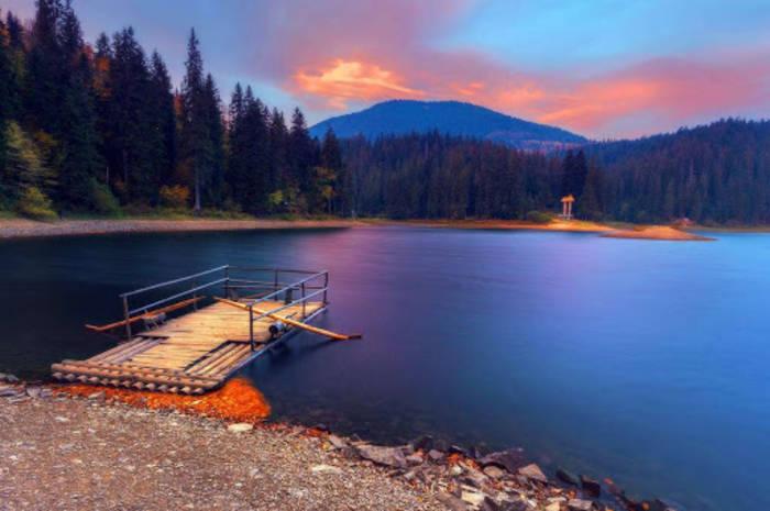 Озеро Синевир - морское око Карпат