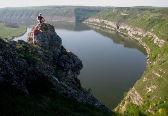 Днестровский каньон - еще одно из самых уникальных мест в мире