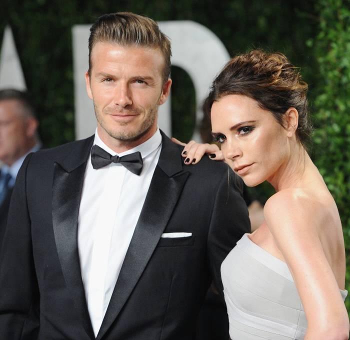 Дэвид Бекхэм и его жена Виктория — танцовщица, модель, актриса и дизайнер