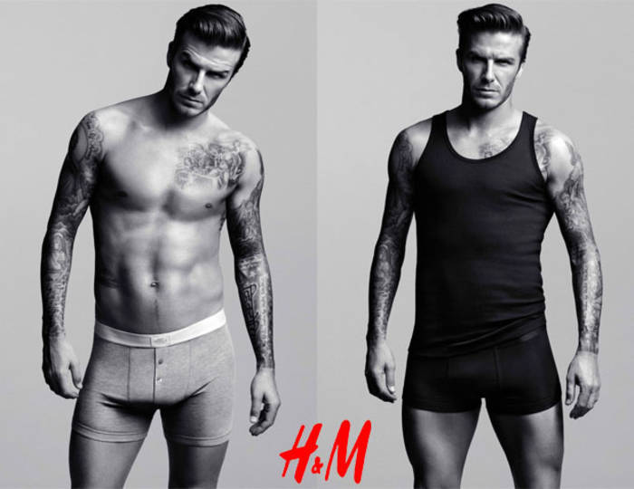 """""""Рекламировать бель не очень удобно — мало кому нравятся волосатые ноги"""", — Дэвид Бекхэм"""