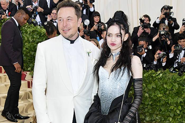 Илон Маск и певица Граймс. Ждет от него шестого ребенка