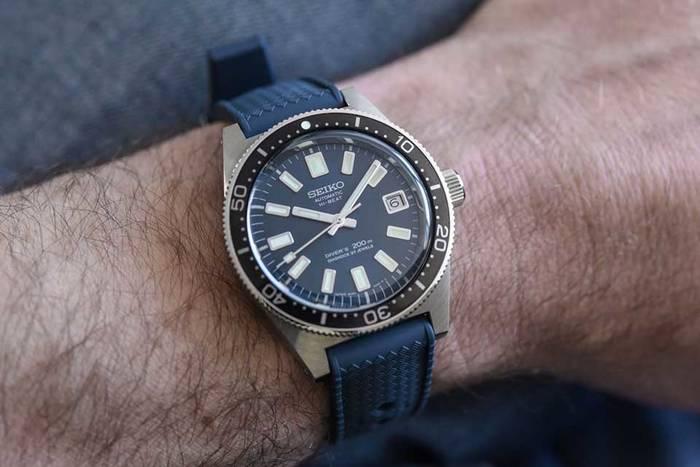 Seiko Prospex Diver - новая версия культового хронометра, созданная в честь 55-летия бренда