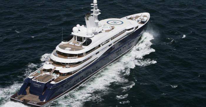 Al Mirqab (133 м), Kusch Yachts