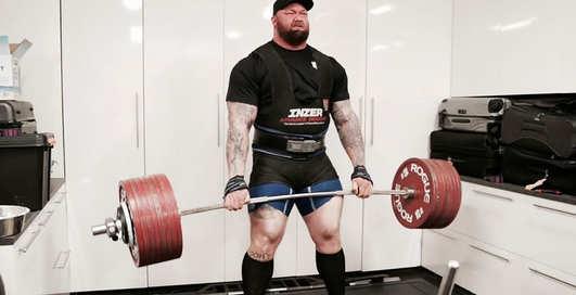 Самый сильный человек: актер из Игры престолов поднял 501 кг, установив мировой рекорд