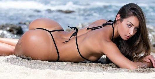 Красотка дня: фитнес-модель с сочной попкой Стефани Мари
