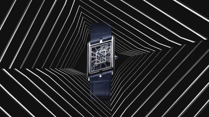 Дизайн Cartier Privé Tank Asymétrique — стильная асимметрия