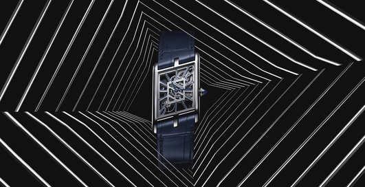 Эталон асимметрии: люксовые Cartier Privé Tank Asymétrique в строгом limited edition
