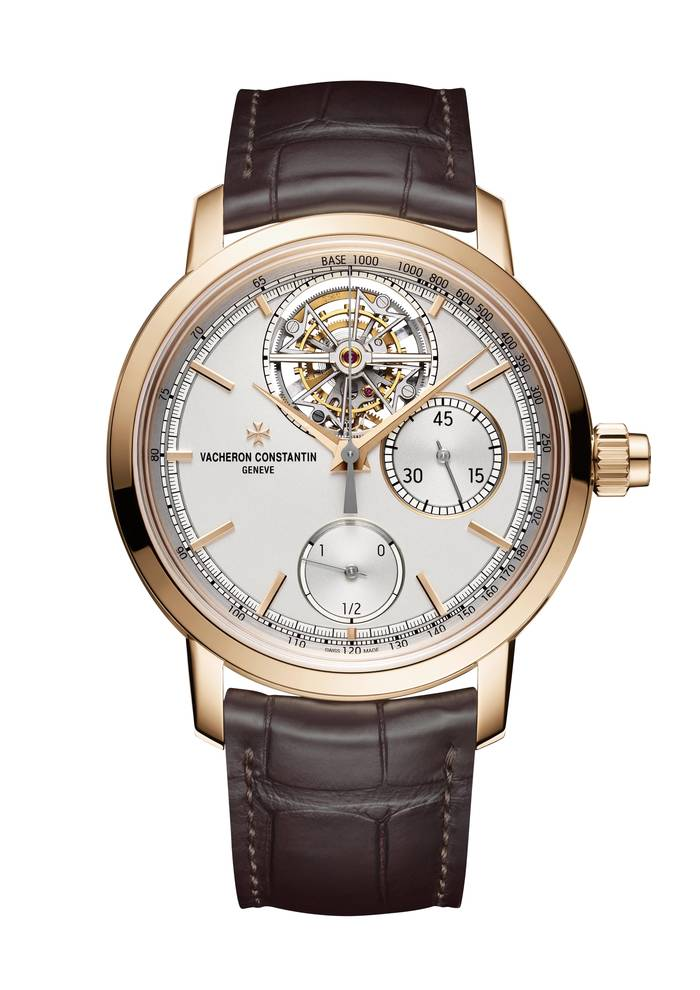 Vacheron Constantin Traditionnelle с функцией хронографа и турбийоном