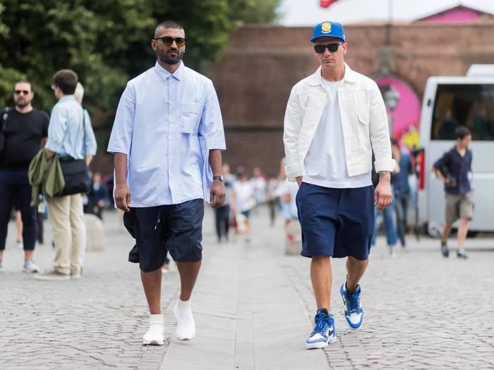 Мужские шорты. Их длина может быть разной